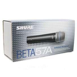 Microfono Shure Beta 57a Alámbrico Supercardioide