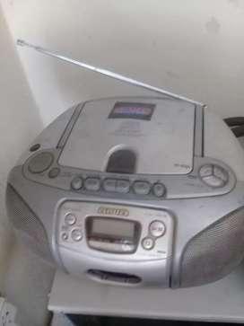 Radiograbador cd