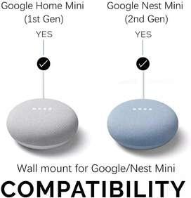 Outlet - Soporte de pared para Google Home Mini y Google Nest Mini