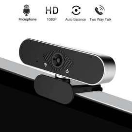 Càmara Webcam USB Full Hd Streaming En Vivo Pc 1080P Micrófono Incorporado