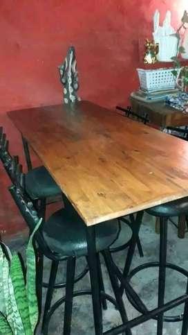 Juego de mesa bar