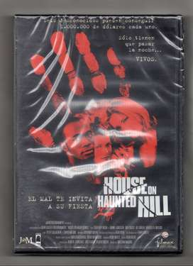DVD HOUSE ON HAUNTED HILL, IMPORTADO