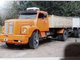 Vendo scania tractor con volcadora y acoplado
