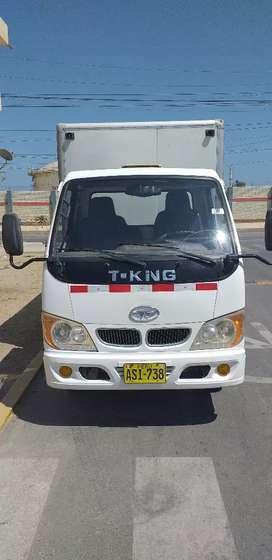 Vendo camión furgon de 2 toneladas marca T-KING