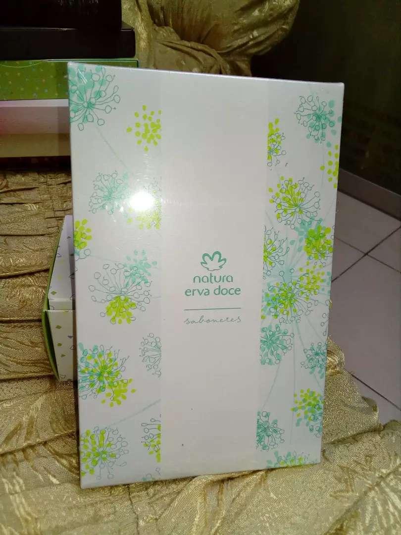 Jabón Erva doce Natura caja x 6 und  nuevo sellado 0