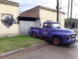Ford 56 Proyecto,DIESEL TURBO (f100 1956,no F1 ,no V8, No Loba)