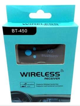 Receptor Bluetooth con reproductor de Micro Sd, PRECIO 15900