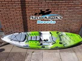 Kayak Modelo Escualo para 1 persona Navio Kayak´s