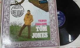 Discos de vinilo LPs Tom Jones/Georges Brassens/Agnaldo Rayol/Mireille Mathieu/Julio Sosa...