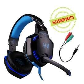 Diadema /Audifonos Gamer Kotion Each G2000 Azul