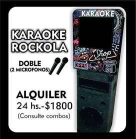 KARAOKE ROCKOLA ALQUILER