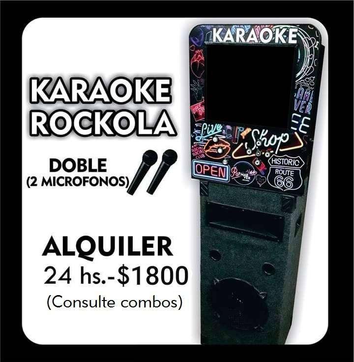 KARAOKE ROCKOLA ALQUILER 0