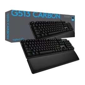 !!!SUPER PROMOCION!!! Teclado Mecánico Logitech Gaming G513 Carbon, Nuevo Original