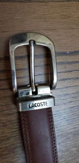 Cinturón Lacoste niños