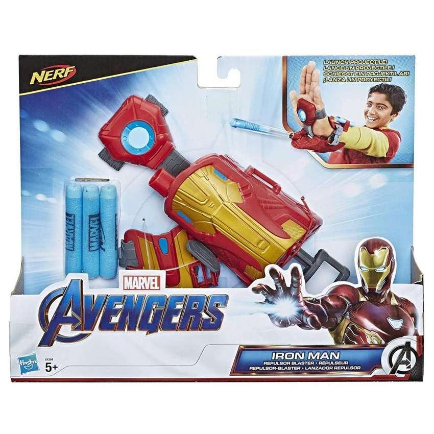 Avengers - Iron Man Lanzador Repulsor, Multicolor Nerf Hasb 0