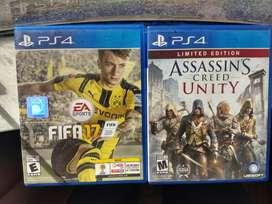 Assassin's Creed Unity y FIFA 17