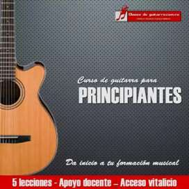 Clases de Guitarra  domicilio