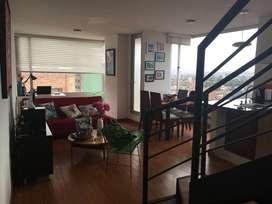 Magnifico apartamento duplex - excelente ubicación y maravillosa vista de la ciudad