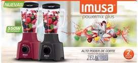 Licuadora Powermix Plus marca Imusa
