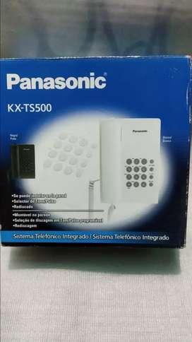 TELEFONO PANASONIC KX-TS500BLANCO $35.000 C/U OFERTA