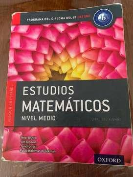 Estudios Matemáticos nivel medio