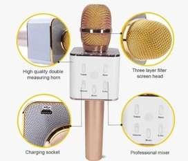 Microfono Karaoke Bluetooth Inalambrico Parlante Usb