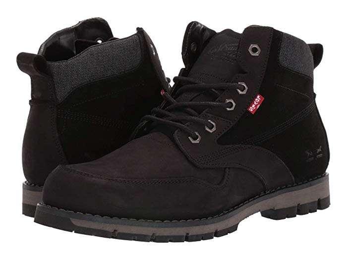 Zapatos caña alta Levi's color negro 0
