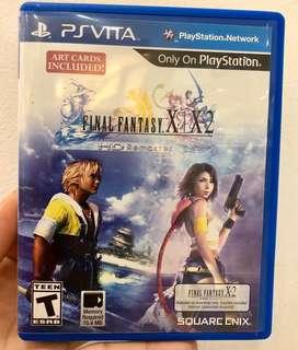 PS VITA Final Fantasy X/X-2 Remaster