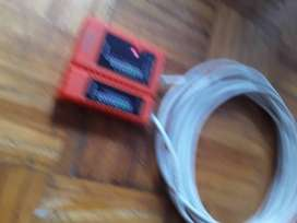 Cable de RED 10mts con conectores RJ45