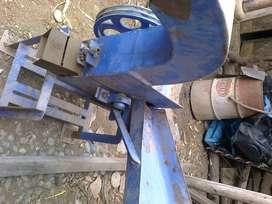 Picadora de chala artesanal