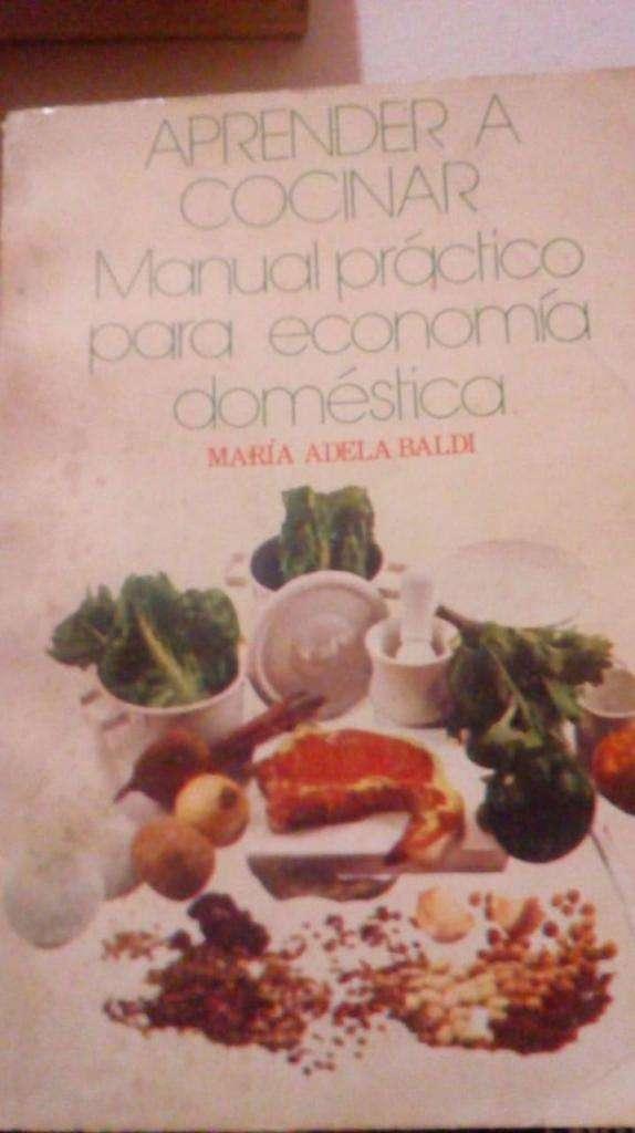 Libro De Cocina Aprender A Cocinar De María Adela Baldi