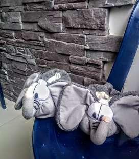 Gangazo pantuflas- babuchas elefante niño y niña