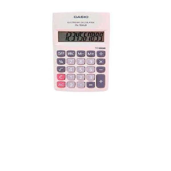 Calculadora Portatil Casio Hl-100lb 10 Digitos Original
