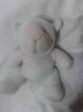 peluche de Bebe oso camisa rosa de  plush perfecto