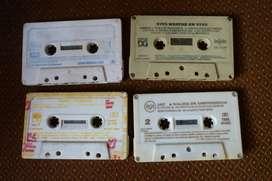 Lote x 4 cassette Yorio, Jaf, Nito Mestre, Baglieto