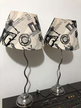 Juego de lámpras modernas