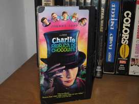 Charlie and the Chocolate Factory (Charlie y la fábrica de chocolate - 2005 VHS Tim Burton
