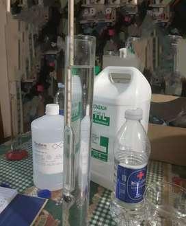 Alcohol 70 solución tópica con glicerina