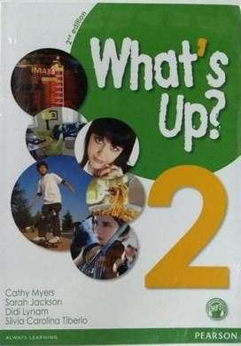 Whats's Up 2 Student's Book + Activity ( 2da edición)