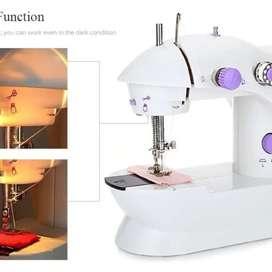 Maquina Coser Portatil Mini Sewing Machine Con Pedal