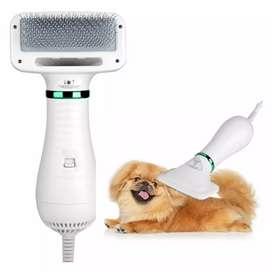 Cepillo para mascotas más secador