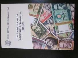 Álbum Colección Billetes De Intis Unc