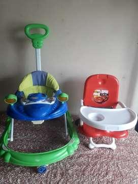Economico caminador y silla bebe