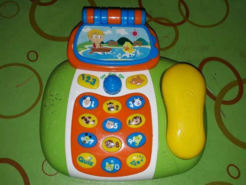 Telefono musical bebe 0