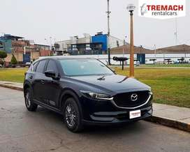 Alquiler de camioneta Mazda cx5 full 2019 - tremach rent a car