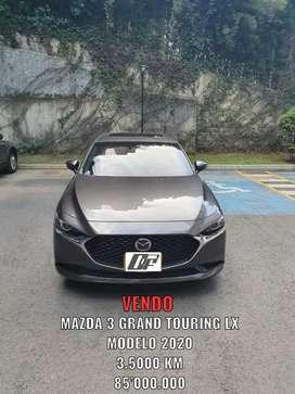 VENDO MAZDA 3 GRAND TOURING LX