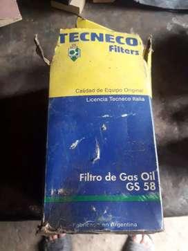 Filtro de gas oil nuevo