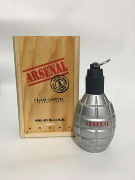 Loción Perfume Arsenal Grey 100ml Original Veronna