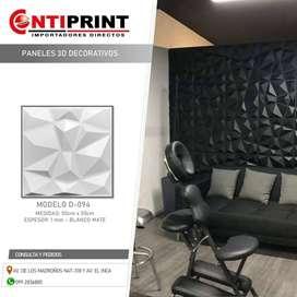 Paneles decorativos de PVC-3D
