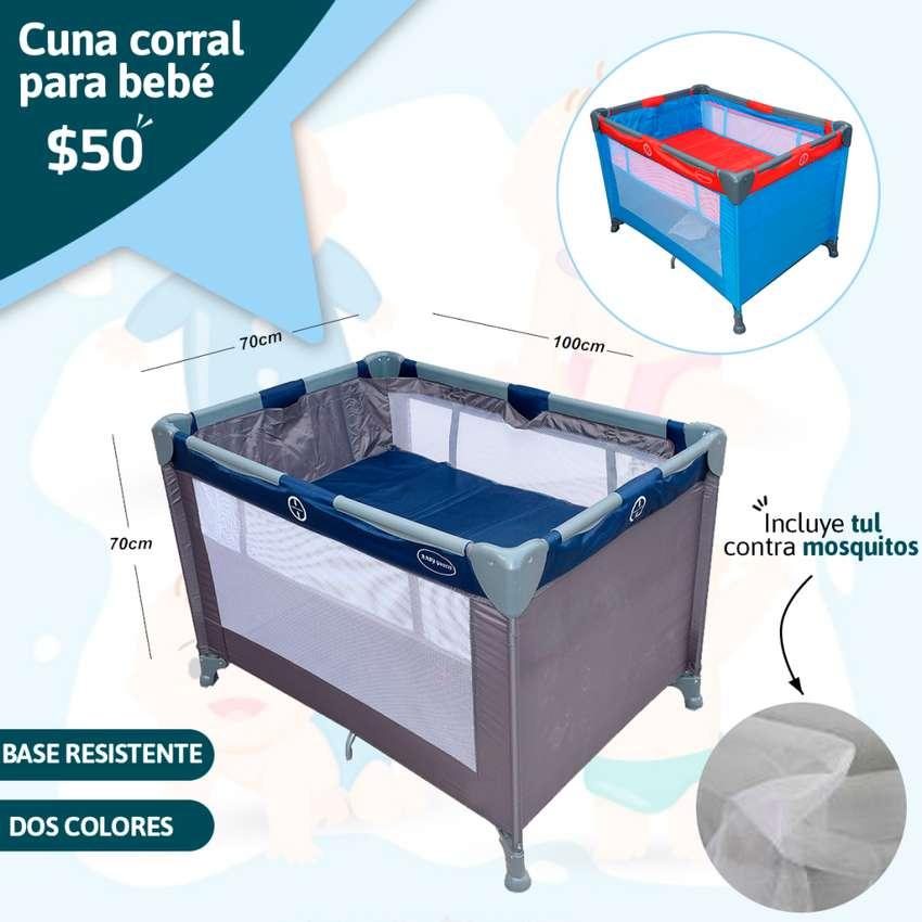 Cuna Corral Para Bebé Excelente Precio 0